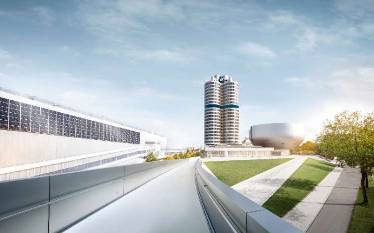 Kantor BMW Group di Munich.  - BMW