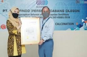 PT Krakatau Posco Chemical Calcination Peroleh Sertifikat…