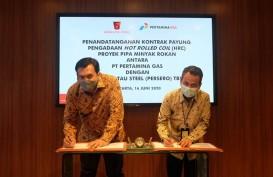 Krakatau Steel Fokus Jaga Pasar Lokal Hingga AKhir Tahun
