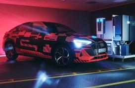 Audi Riset Teknologi Dua Arah Pengisian Setrum Mobil Listrik
