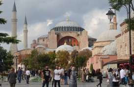 Hagia Sophia Gelar Salat Jumat, 700 Petugas Kesehatan Siaga