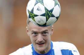 23 Gol, Jamie Vardy Bakal Top Skor Liga Inggris Pertama…