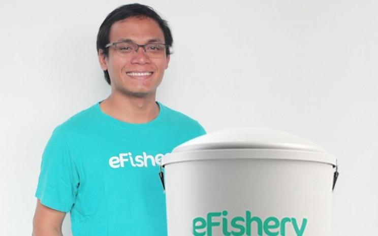 Gibran Huzaifah, CEO dan Founder eFishery memulai bisnis dari ternak lele dan kini memiliki pabrik pakan. - istimewa