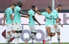 Hasil Pertandingan Liga Italia, Inter Milan Atasi Genoa 3-0