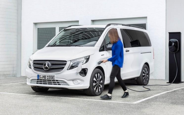 Mercedes Benz eVito. - Mercedes Benz