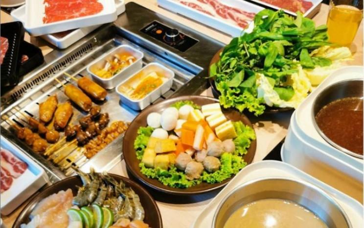 Menu makanan di Shabu Hachi. - instagram