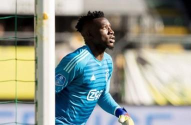 Leverkusen Ajukan 20 Juta Euro untuk Boyong Kiper Ajax Onana