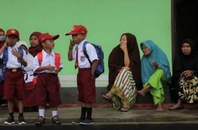 Sekolah di Masa Pandemi, 79 Kabupaten/Kota Langgar…