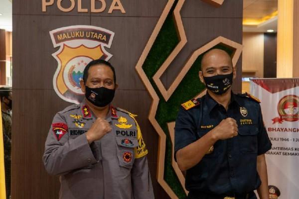 Pandemi Tak Halangi Bea Cukai Aktif Kawal Pemulihan Ekonomi di Maluku Utara