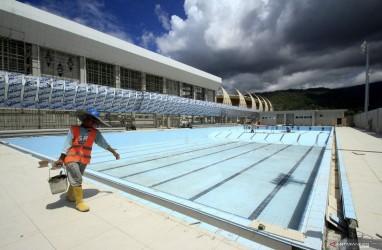 Pembangunan Tuntas, Arena Akuatik PON XX Penuhi Standar Olimpiade