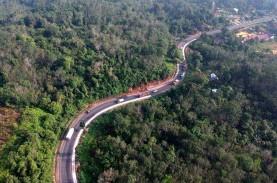 Kontrak Proyek Jalintim Sumatra Rp1,34 Triliun Diteken…