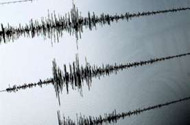 Gempa Magnitudo 5,3 Guncang Pangandaran