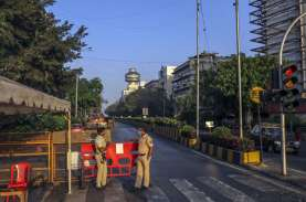 Separuh Penduduk Daerah Kumuh di Mumbai, India Terjangkit…