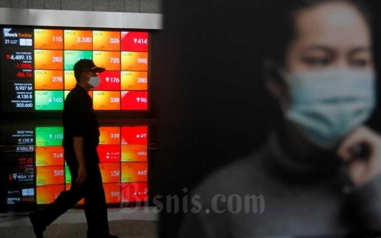 Saham Keluarga Bank Bri Bbri Turun Ihsg Kembali Ke 5 100 Market Bisnis Com