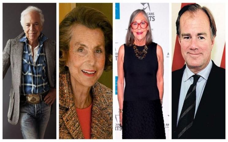Miliarder berzodiak Libra yakni Ralph Lauren, Liliane Bettencourt, Alice Walton, dan Stefan Persson.