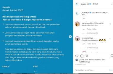 Gurita Jouska, Direktur Amarta Investa Cuan 420 Persen Dari LUCK