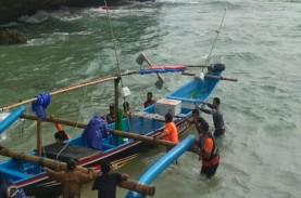 Perahu Terbalik, 3 Nelayan Lobster di Gunungkidul…