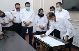 Pemkot Palembang dan Gojek Tandatangani 5 MoU
