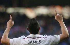 Arturo Vidal Berharap James Rodriguez Pindah dari Madrid