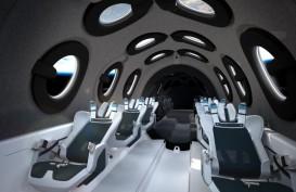 Mengintip Desain Kabin Pesawat Luar Angkasa Virgin Galactic