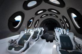 Mengintip Desain Kabin Pesawat Luar Angkasa Virgin…
