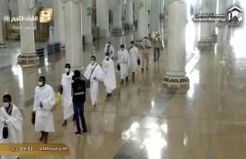 Ibadah Haji 2020 : Jemaah Mulai Menjalani Tawaf dan Sai di Mekah