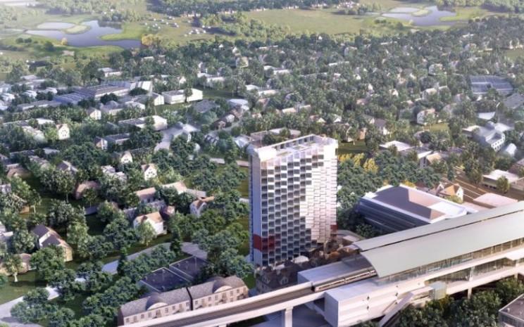 Core Cipete, salah satu proyek PT Jaya Real Property Tbk. (JRP). /Bisnis.com Mutiara Nabila