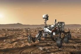 Mengintip Mata 'Perseverance' di Planet Mars