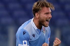 Top Skor Serie A, Satu Gol Lagi, Immobile Samai Rekor…