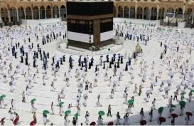 Pertama Kali, Polwan Arab Saudi Amankan Prosesi Ibadah Haji 2020