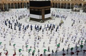 Pertama Kali, Polwan Arab Saudi Amankan Prosesi Ibadah…