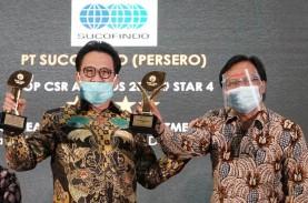 Sucofindo Raih Dua Penghargaan Top CSR Awards 2020
