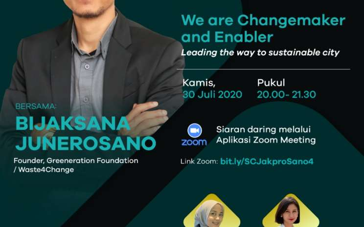 Foto: Official Poster Webinar SimakKamis Seri Sustainable City Season II Eps. 4