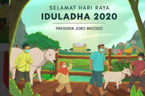 Jokowi Selamat Iduladha Semoga Ujian Pandemi Covid 19 Segera Berlalu Kabar24 Bisnis Com