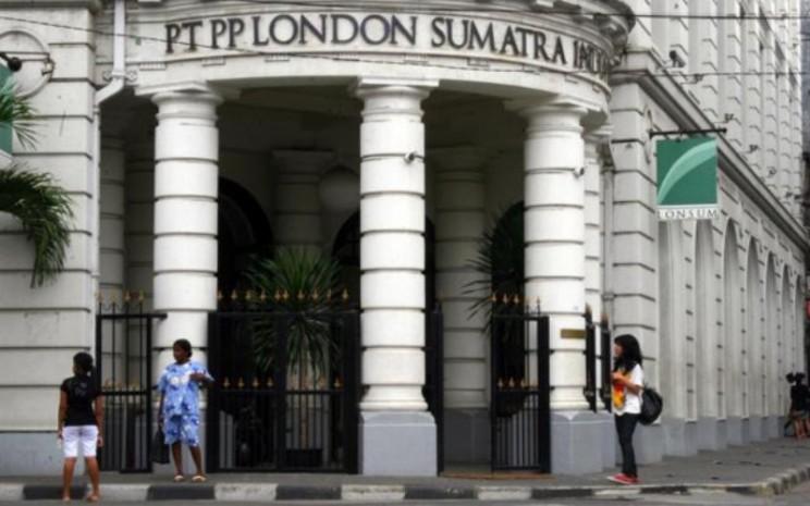 Gedung PT PP London Sumatra Tbk di Medan. - Bisnis