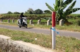 Patok Jalan Tol Solo-Jogja Mulai Dipasang
