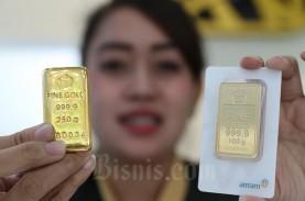 Harga Emas 24 Karat Antam Hari ini, Sabtu 1 Agustus…
