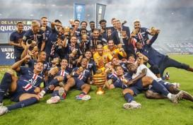 Tanpa Mbappe, Paris Saint-Germain Juara 9 Kali Piala Liga Prancis