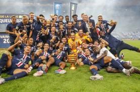 Tanpa Mbappe, Paris Saint-Germain Juara 9 Kali Piala…