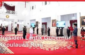 Gubernur Kepri Ditest Swab sebelum Dilantik Jokowi, Sempat Foto Bersama