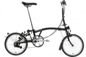 Tak Kalah dari Brompton, Ini Sepeda Lipat Lokal Harga…