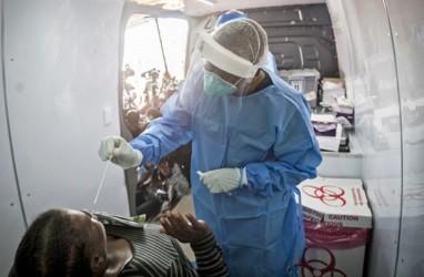 Pasien Covid-19 Afrika Selatan Tembus Setengah Juta Jiwa