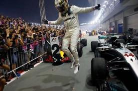 Starting Grid F1 GP Britania Minggu Malam, Hamilton…