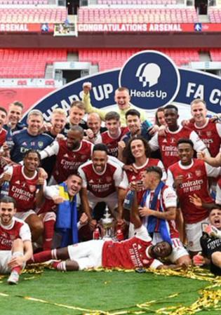 Arsenal Juara FA Cup, Aubameyang Perlu Pegang Lebih Banyak Trofi