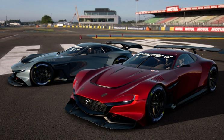 Mazda RX-VISION GT3. - Mazda