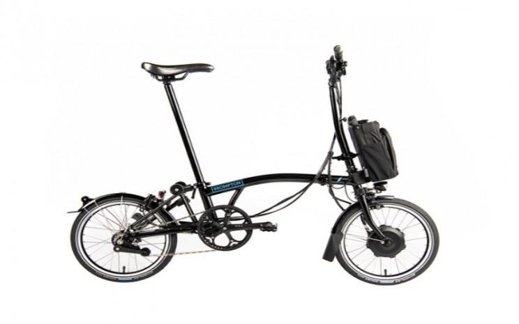 Brompton E-Bike H6L Black. - Dok. Brompton