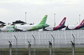 Ini 8 Bandara dengan Pesawat Parkir Terbanyak, Soetta…