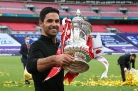 Arsenal Juara FA Cup, Arteta Sebut Baru Langkah Awal