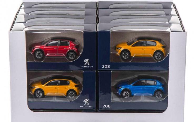 Miniatur Peugeot 208. - Peugeot