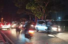Arus Balik Iduladha, Jalan Utama di Garut Menuju Bandung Macet